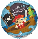 "18"" Pirate Boy Birthday 1ct"