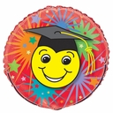 "18"" Smiley Grad 10 per pack"