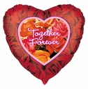 Together Forever Balloon Heart Shape Balloon
