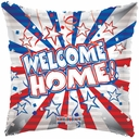 "18"" Welcome Home Square Balloons 1 per Pack"