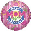 "18"" World's Greatest Mom 1ct"