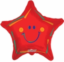 "19"" Red Smile Star 10pk"