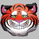 "25"" Smiling Tiger 1-per pack"
