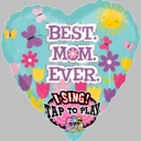 "29"" Singing Mother's Day Helium Foil Balloons"