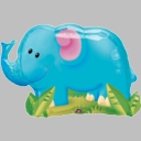 "33"" Party Elephant 1-per pack"