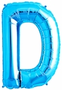 "34"" Blue  Letter ""D"" Foil Balloon"