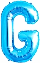 "34"" Blue  Letter ""G"" Foil Balloon"