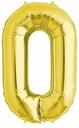 "34"" Gold Letter ""O"" Foil Balloon"
