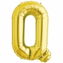 "34"" Gold Letter ""Q"" Foil Balloon"