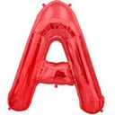"34"" Red Alphabet Letter Balloons Close Out Sale"