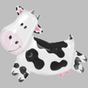 "35"" Cow Foil Balloon"