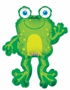 "36"" Jumbo Happy Frog Helium Balloon 1 per pack"