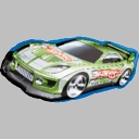 "36"" Hot Wheels Green Racer"