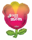"36"" I Love You MOM Tulip Shape"