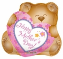 "36"" Jumbo Happy Mother's Day Cuddly Bear"