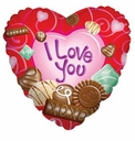 "36"" Jumbo Love Chocolate Heart"