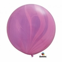"36"" Pink Super Agate Latex Balloons 1 Per Pack"