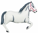 "43"" White Horse Balloon"