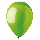 "5"" Lime Latex Balloons 100 Per Bag"