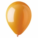 "5"" Orange Latex Balloons 100 Per Bag"