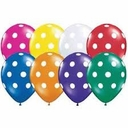 "5"" Assorted Polka Dots 100ct"