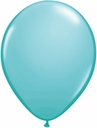"5"" Qualatex Caribbean Blue Latex Balloons 100 Per Bag"