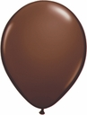 "5"" Qualatex Chocolate Brown Latex Balloons 100 Per Bag"