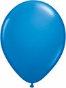 "5"" Qualatex Dark Blue Latex Balloons 100 Per Bag"
