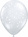 "5"" Qualatex Diamond Clear Latex Balloons 100 Per Bag"