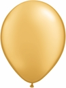 "5"" Qualatex Gold Latex Balloons 100 Per Bag"
