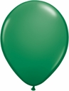 "5"" Qualatex Green Latex Balloons 100 Per Bag"