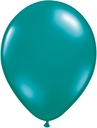 "5"" Qualatex Jewel Teal Latex Balloons 100 Per Bag"
