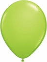 "5"" Qualatex Lime Latex Balloons 100 Per Bag"