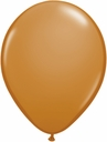 "5"" Qualatex Mocha Brown Latex Balloons 100 Per Bag"