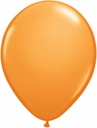 "5"" Qualatex Orange Latex Balloons 100 Per Bag"