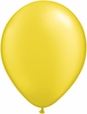 "5"" Qualatex Pearl Citrine Yellow Latex Balloons 100 Per Bag"