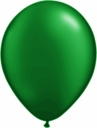 "5"" Qualatex Pearl Forest Green Latex Balloons 100 Per Bag"