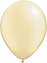"5"" Qualatex Pearl Ivory Latex Balloons 100 Per Bag"