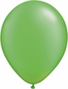"5"" Qualatex Pearl Lime Latex Balloons 100 Per Bag"