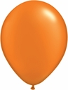 "5"" Qualatex Mandarin Orange Latex Balloons 100 Per Bag"