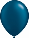 "5"" Qualatex Pearl Midnight Blue Latex Balloons 100 Per Bag"