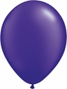 "5"" Qualatex Pearl Quartz Purple Latex Balloons 100 Per Bag"