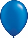 "5"" Qualatex Pearl Sapphire Blue Latex Balloons 100 Per Bag"