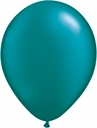 "5"" Qualatex Pearl Teal Latex Balloons 100 Per Bag"