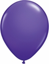 "5"" Qualatex Purple Green Latex Balloons 100 Per Bag"