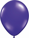 "5"" Qualatex Quartz Purple Latex Balloons 100 Per Bag"