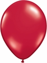 "5"" Qualatex Ruby Red Latex Balloons 100 Per Bag"