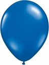 "5"" Qualatex Sapphire Blue Latex Balloons 100 Per Bag"