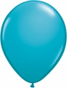 "5"" Qualatex Tropical Teal Latex Balloons 100 Per Bag"