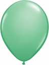 "5"" Qualatex Winter Green Latex Balloons 100 Per Bag"